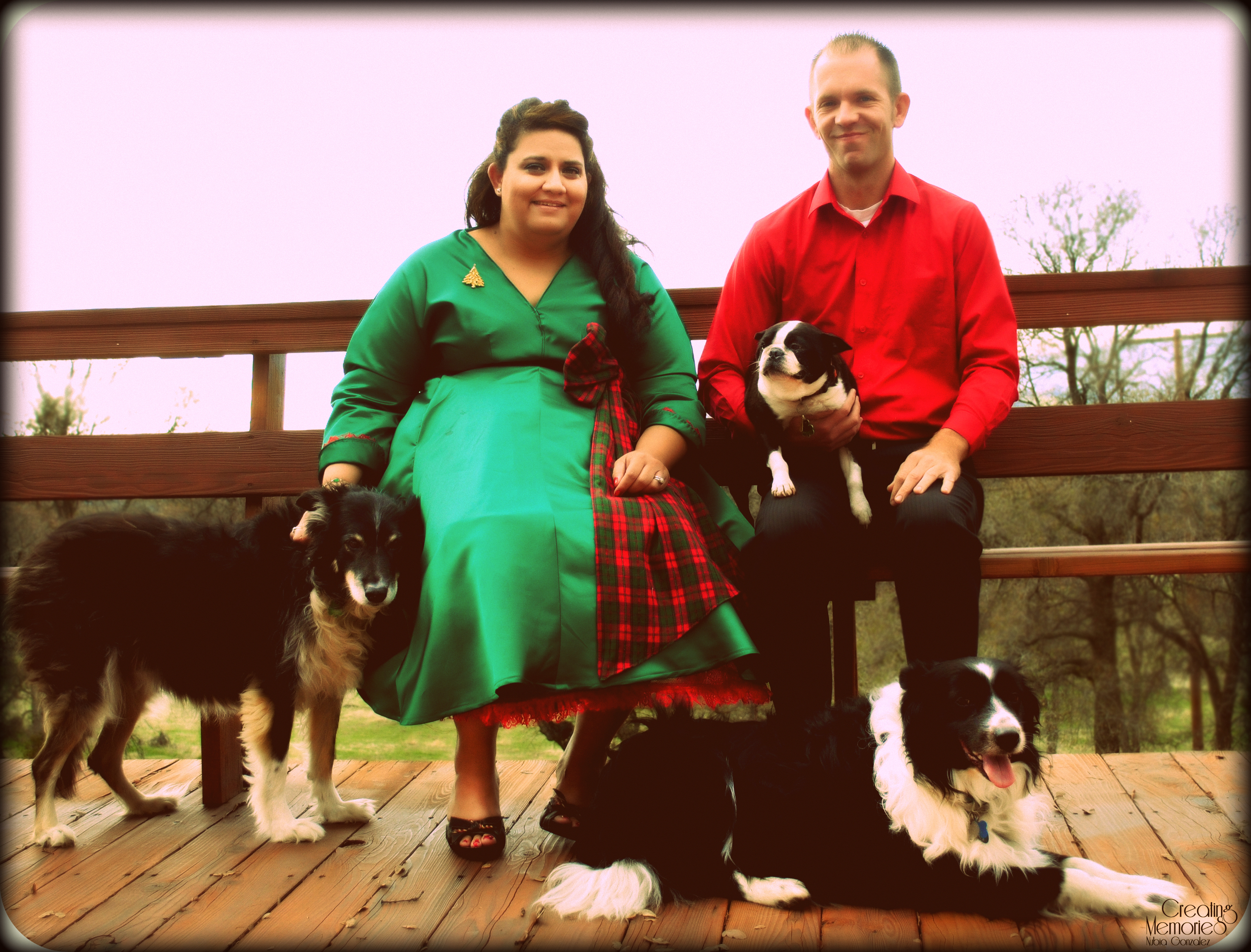 Our family Christmas photo 2012