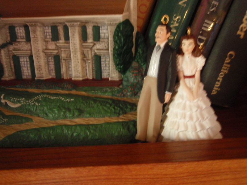 GWTW Hallmark 1996 Miniature Ornaments