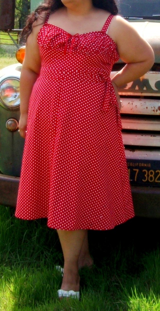 Vintage Vogue 8812 1940 Sundress
