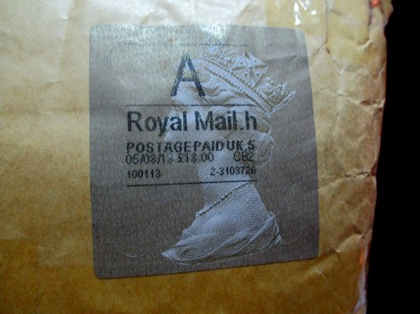 I'm a bit of an Anglophile and love when parcels via Royal Mail arrive in my box!