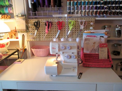Serger table