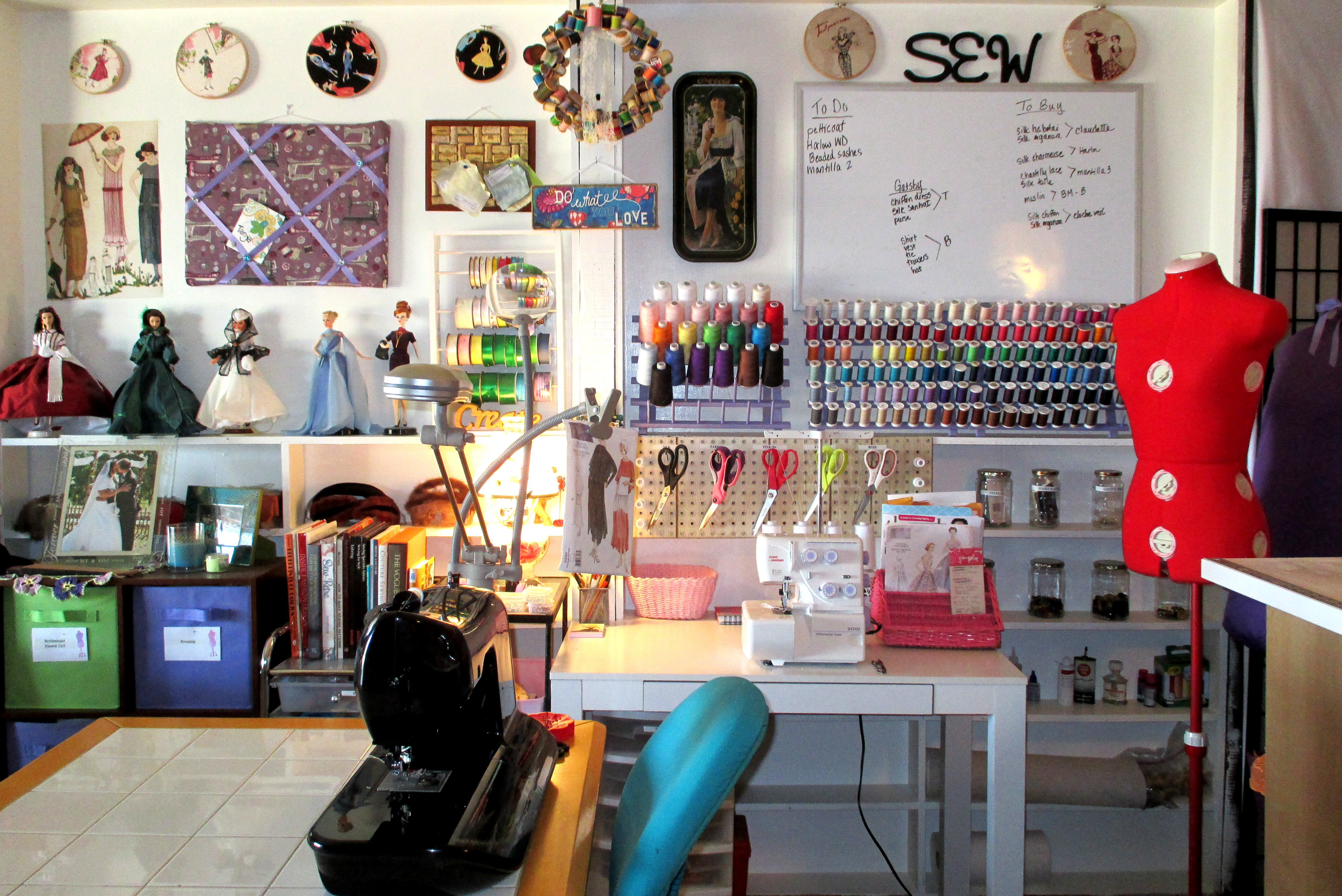 Journey Into My Sewing Room