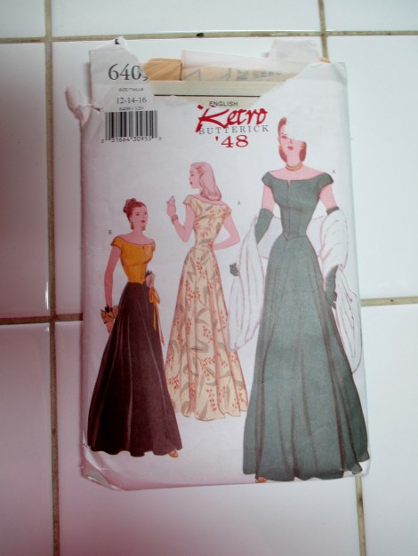 Retro Butterick 6409